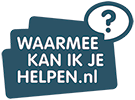 Waarmee kan ik je helpen? Logo